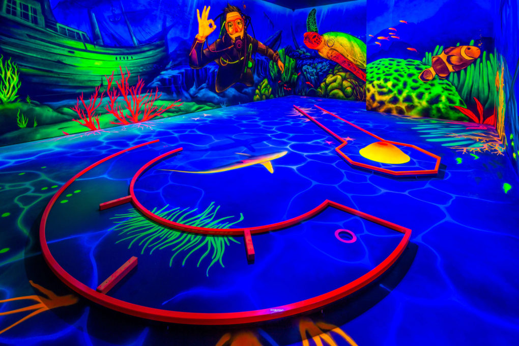 Unterwasserwelt 4dminigolf Kiel
